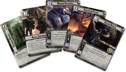 warhammer conquest cards