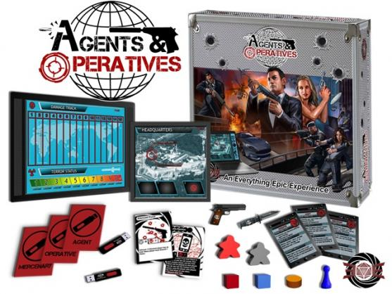 agent and operatives board