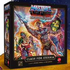Masters of the Universe: Clash of Eternia Cover