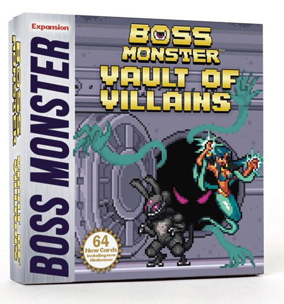 Boss Monster Vault of Villains