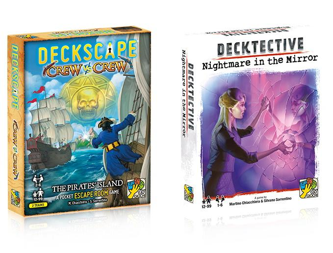 Deckscape and Decktective