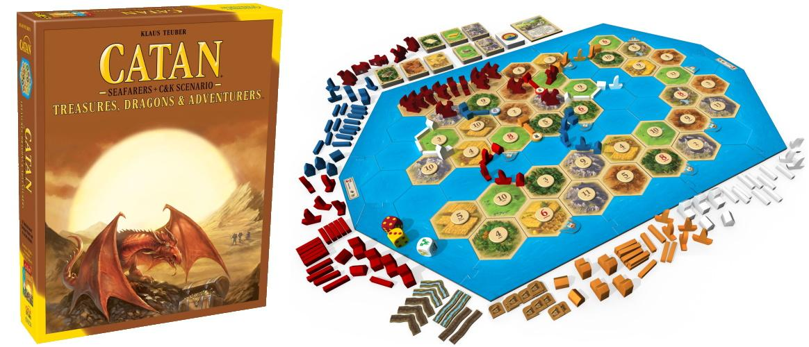 Catan Treasures and Dragons Adventures