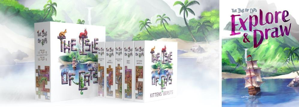 Isle of Cats Kittens and Beasts expansion