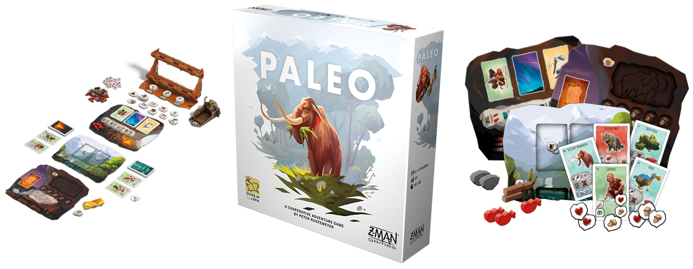 Paleo game contents