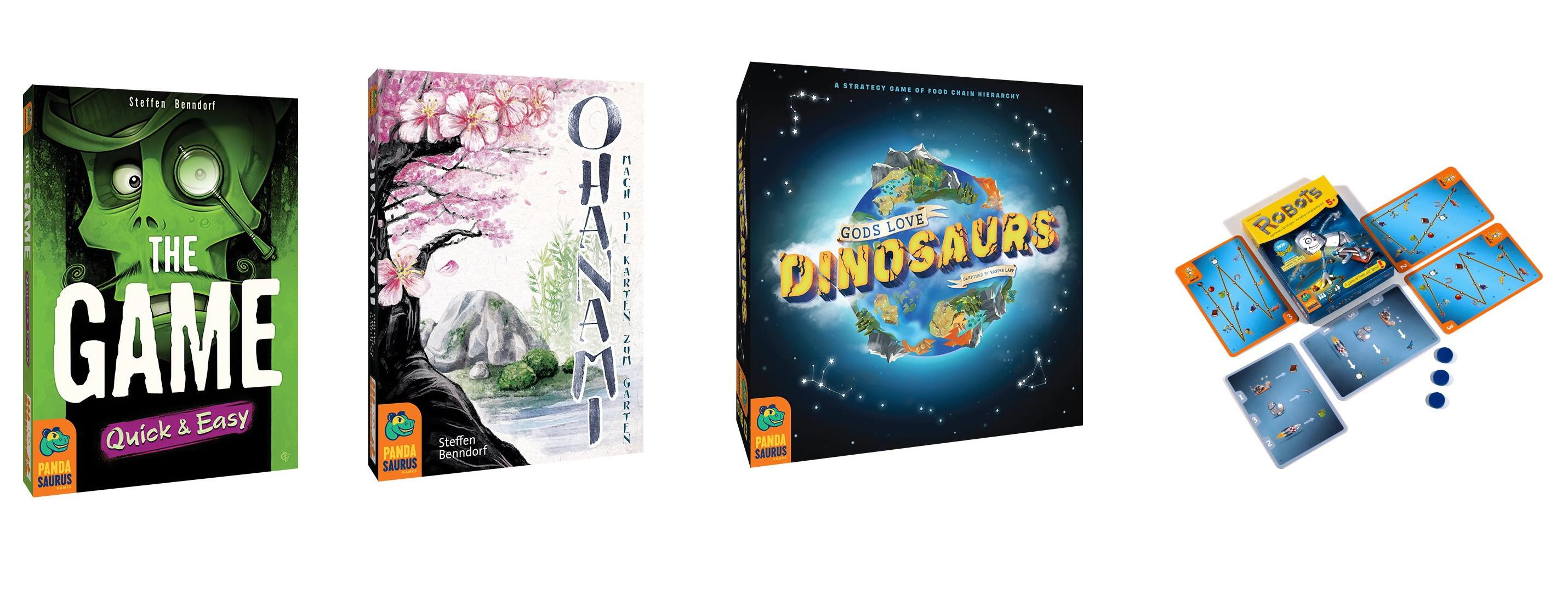 Pandasaurs October 2020 releases