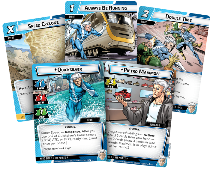 Quicksilver Marvel Champions Expansion