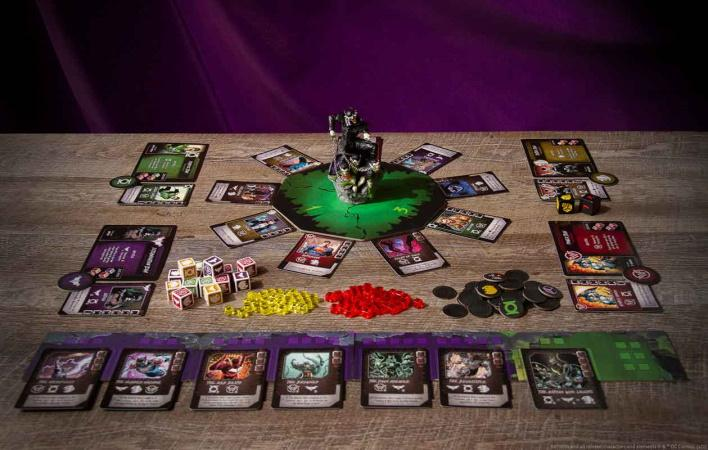 The Batman Who Laughs Rising - Components