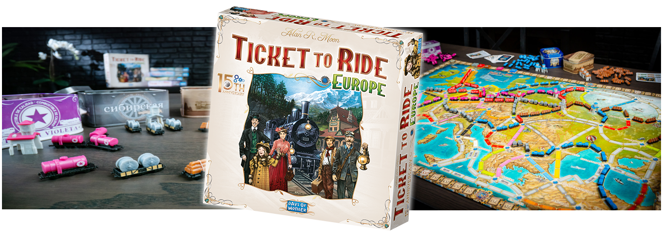 Ticket to Ride Europe 15th Anniversary