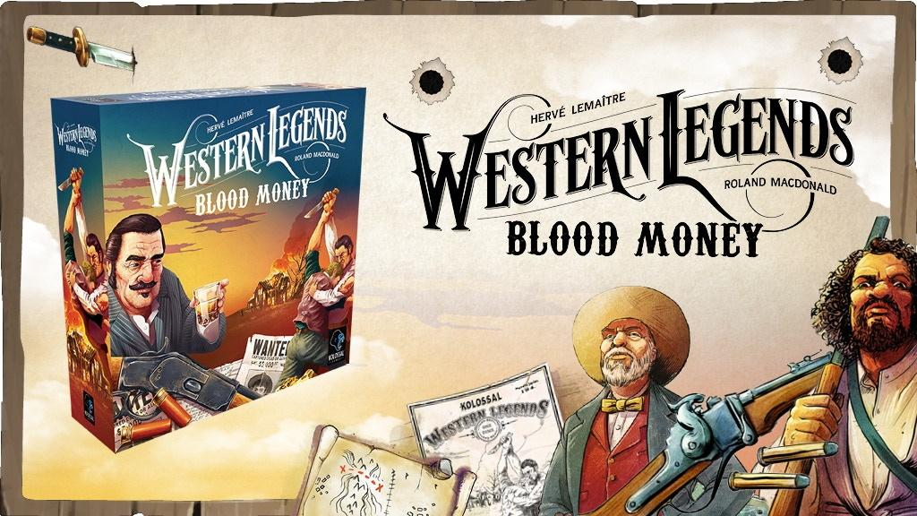 Western Legends: Blood Money
