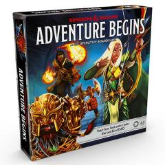 Adventure Begins - Dungeons and Dragons