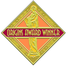 Origins Award Winner Seal