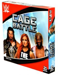 WWE Cage Battle Cover