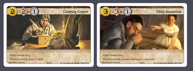 A Game of Thrones LCG Westeros Draft Pack New