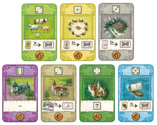 The Castles Of Burgundy The Card Game Announced Dice Tower News