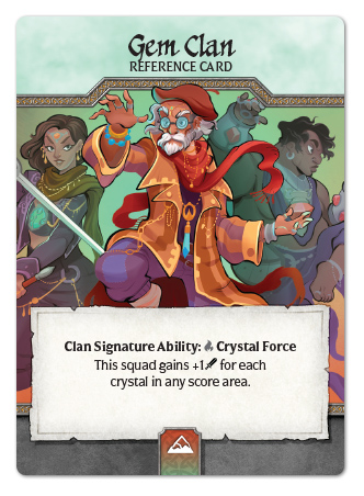 Moon Clan Expansion Deck Crystal Clans